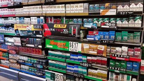 Tobacco sales at retail