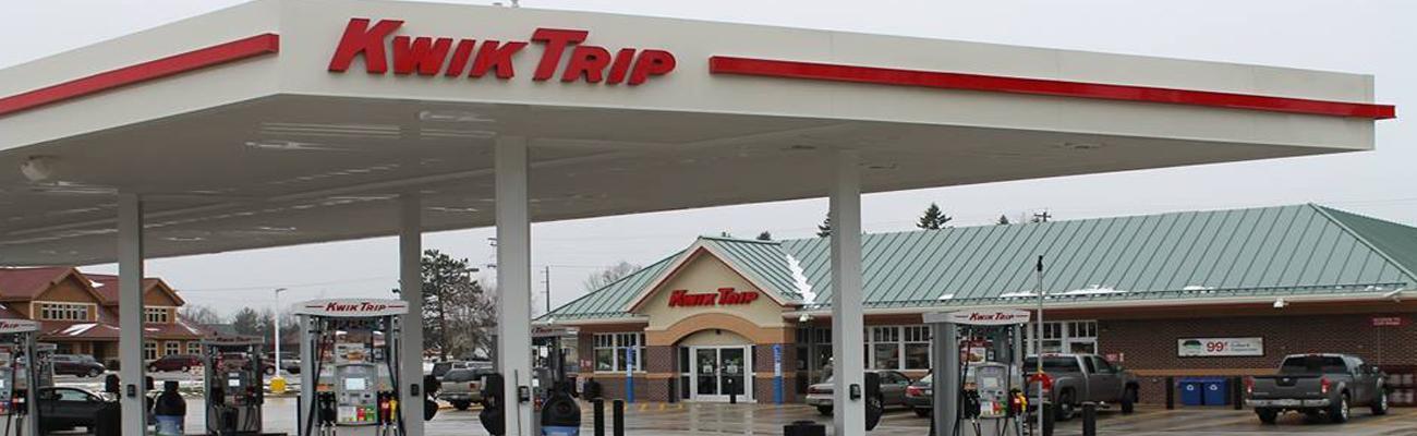 Kwik Trip convenience store exterior