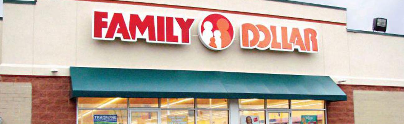 A Family Dollar store