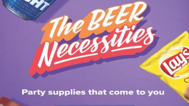 Beer Necessities via 7Now mobile app