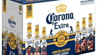 Corona Extra Legends Bottles