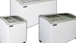 Coldin-3 Curved Lid Display Freezers