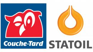 Logos for Alimentation Couche-Tard and Statoil