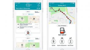 GasBuddy's Trips feature
