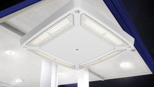LSI Industries Scottsdale Vertex Canopy Light Fixture