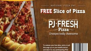 Pilot Flying J National Pizza Day promo