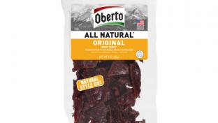 Oberto Beef Jerky Clear XL Bags