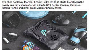 Hydro sweepstakes Circle K FB post