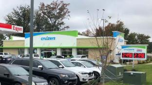 Holmes Oil new Wendell, N.C. store is the company's second Cruizers to feature the new prototype.