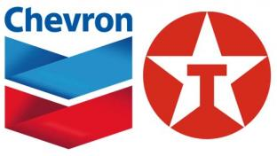 Chevron and Texaco logos