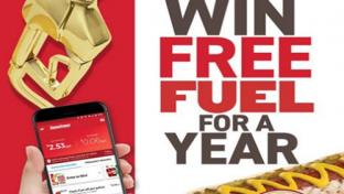 Thorntons Free Fuel For a Year