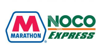 Marathon Petroleum Corp. and NOCO Express logos
