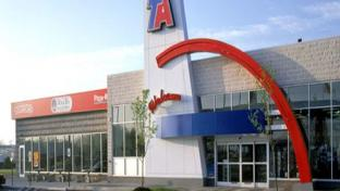 a TA travel center